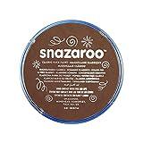 Snazaroo- Pintura Facial y Corporal, Color marrón claro, 18 ml (Paquete de 1) (Colart 18988)