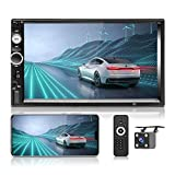 Hikity Car Stereo Double Din 7 Inch Touchscreen...