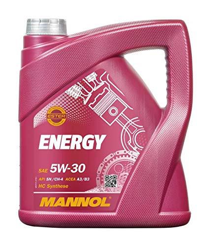 Mannol Energy 5W-30 API SN/CH-4 motorolie, 5 liter