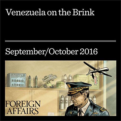 Venezuela on the Brink audiobook cover art