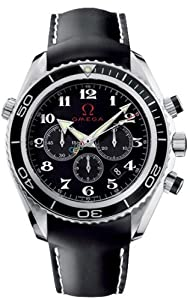 Omega Seamaster Planet Ocean Olympic Timeless Collection Black Mens Watch 222.32.46.50.01.001 image