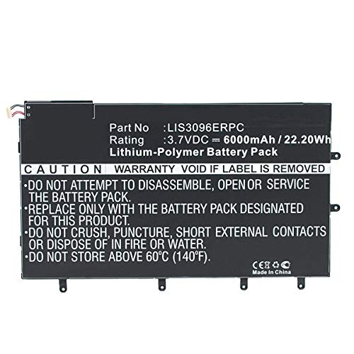 Amsahr lis3096erpc-02batteria sostitutiva per Sony LIS3096ERPC, Sony SGP321, so-03e, Xperia Tablet Z ()