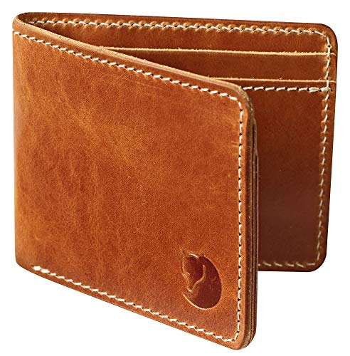 Fjällräven Övik Wallet, Leather Cognac