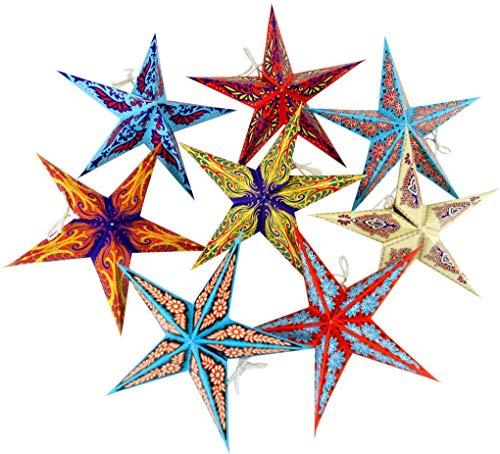 Guru-Shop Stern Lichterkette, Ministern set - Multicolour, Ministerne, Lichterketten