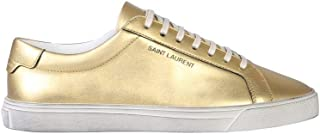 SAINT LAURENT Luxury Fashion Womens 58825006S008097 Gold Sneakers | Fall Winter 19