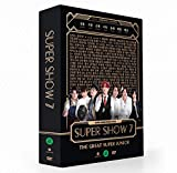 SM Entertainment SUPER JUNIOR - SUPER SHOW 7 2DVD+Photobook + 8Photocard + Juego de tarjetas de fotos extra de doble cara