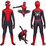 Lycra Spandex Zentai lejos de casa disfraz de Spiderman Peter Parker Cosplay vestido de superhéroe Onesies Cosplay disfraces