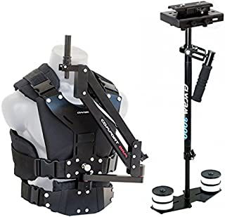 FLYCAM 3000 Camera Stabilizer Comfort Arm Vest + (CMFT-FLCM-3)| Stabilization System for DSLR Video Sony Nikon Canon