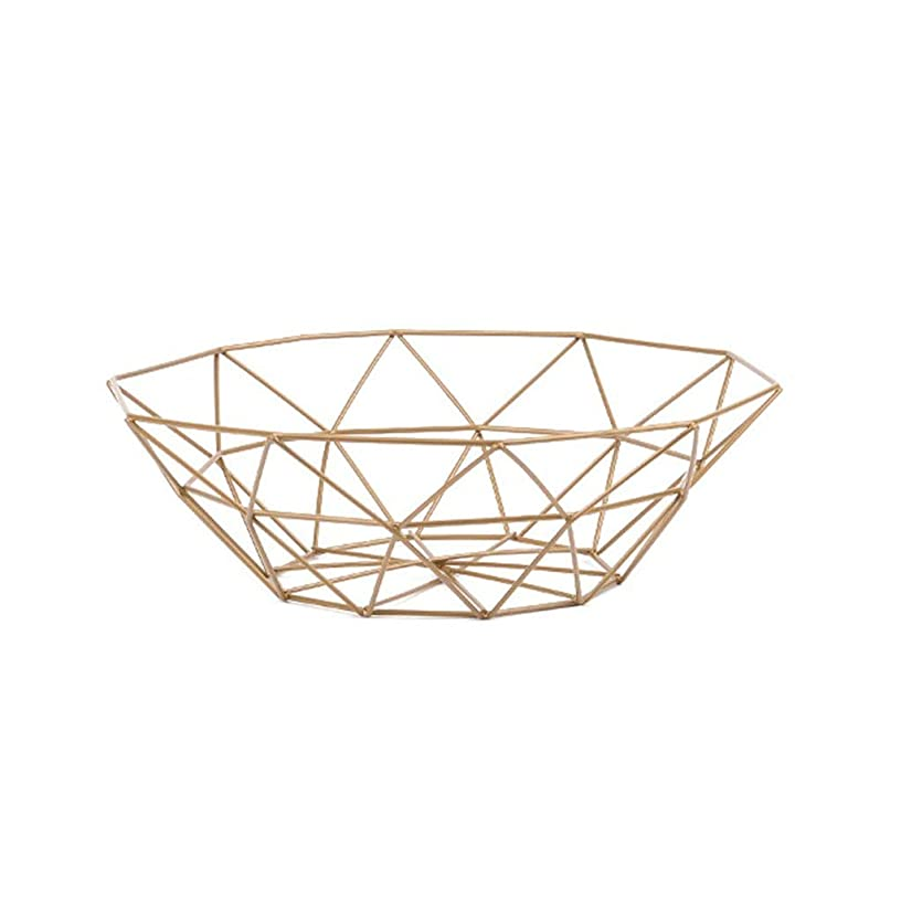 SCSGJ 1-Tier Countertop Fruit Basket Holder & Decorative Bowl Stand—Perfect for Fruit, Vegetables, Snacks, Household Items, and Much More