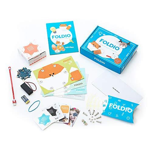 Foldio   Programmieren lernen für Kinder   Komplettset mit Calliope mini - Lernspielzeug, Experimentierkasten, Coding, ab 7 Jahren