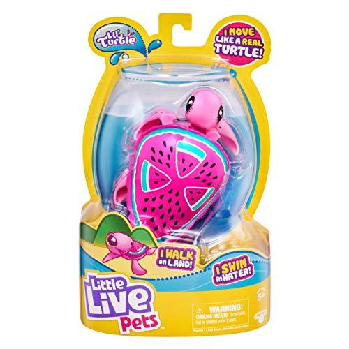 Little Live Pets-Los Estilos de Tortuga Pueden Variar. (Moose 26204)