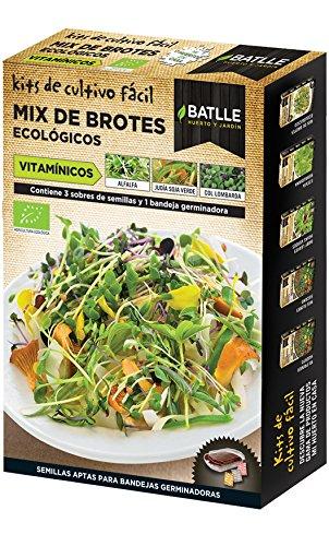Semillas Ecológicas Bortes - Brotes MIX ECO VITAMÍNICOS - Batlle