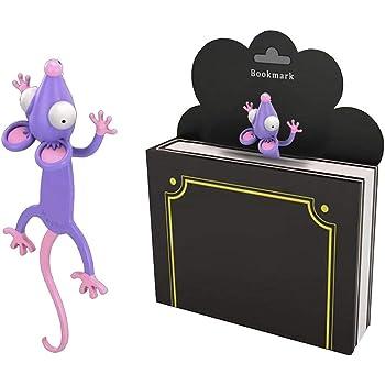 Segnalibri Simpatico Coniglio Gatto Divertente Regalo per Bambini per Studenti Cartoleria 3D Stereo Cartoon Design luosh Segnalibro