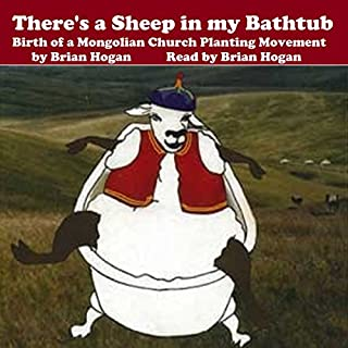 There's a Sheep in My Bathtub audiobook cover art