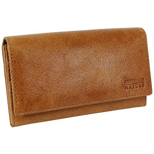 GreenLand nATURE light porte laminées en cuir-marron clair - 16,5 cm