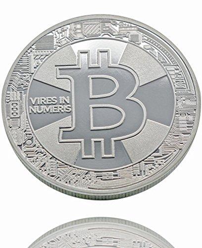 Ze2-Gear Bitcoin Münze Silber, + Bonus BTC Classic + Bonus Ethereum, Bitte Bilder ansehen