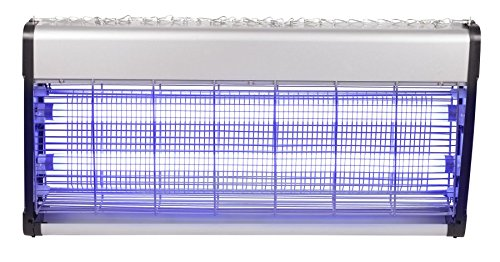 Preisvergleich Produktbild PROFI INSEKTENLAMPE INSEKTENKILLER MÜCKENSCHUTZ INSEKTEN MÜCKEN MOTTEN FLIEGEN LAMPE 160qm 40W 730240