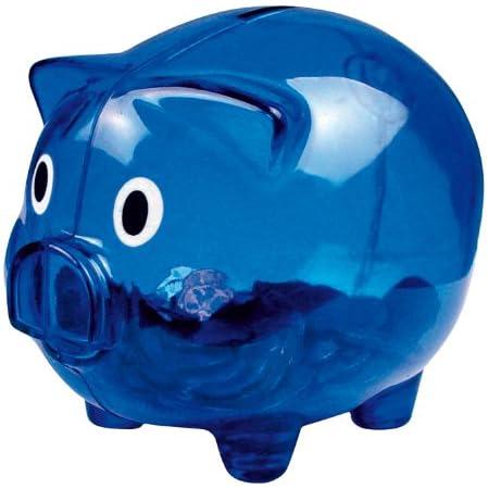 Sparschweinz/ähler aus Kunststoff mit hoher Kapazit/ät Geschenk f/ür Kinder digitales LCD-Display EUR M/ünzz/ähler Geldsparbox Vvciic Sparb/üchse