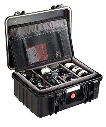 Vanguard Supreme 40D Wasserdichter Fotokoffer mit Trennwänden schwarz