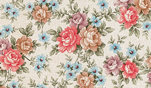 Fablon Romance plakfolie, 45 cm x 2 m, bloemenmotief
