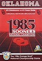 Oklahoma 1986 Orange Bowl National Championship [DVD] [Import]