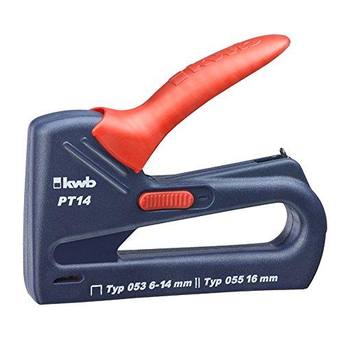 KWB 053-314 Blue Tack PT 14 N, Profi-Handtacker