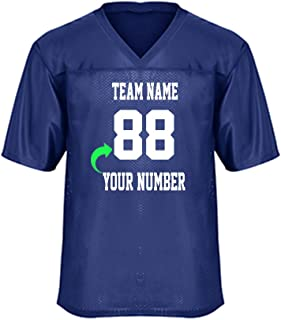 Best personalized youth football jersey Reviews