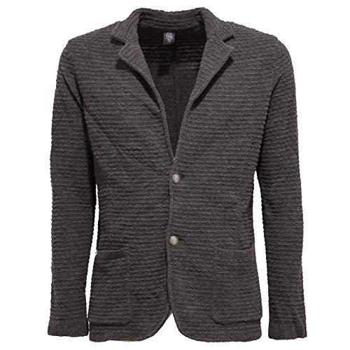 Eleventy 8226K Giacca Lana Cardigan Uomo Wool Grey Sweater Jacket Man...