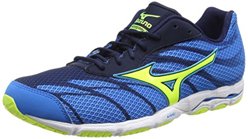 Mizuno Wave Hitogami 3 - Zapatillas de running Hombre, Azul, 46