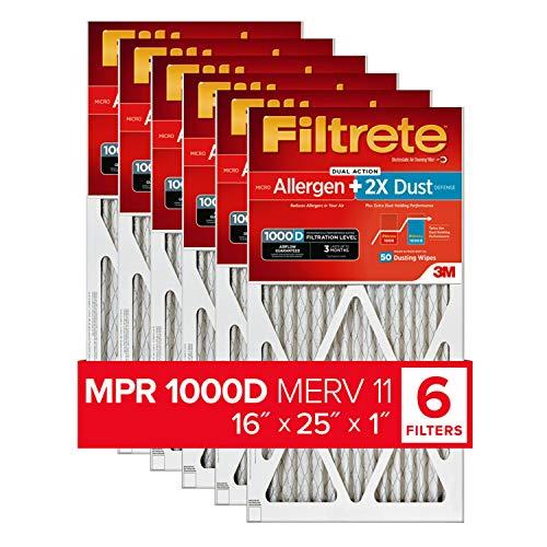 Filtrete 16x25x1, AC Furnace Air Filter, MPR...