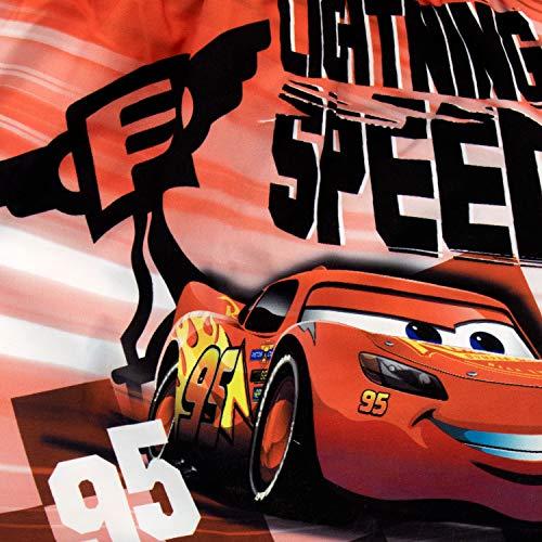 Disney Costume da Bagno per Ragazzi a Due Pezzi Cars Motori ruggenti Rosso 18-24 Mesi
