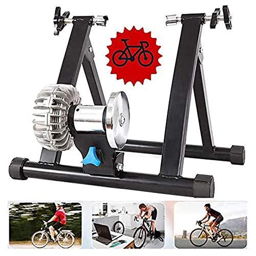 YSHUAI Magnética Bicicletas Trainer - Bicicleta Plegable Trainer - Bici magnética Turbo...
