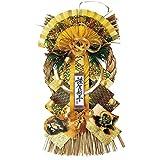 リード商事 正月飾り しめ飾り 玄関飾り LD-8159 風神雷神飾り 悠々