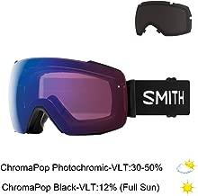 Smith Optics Io Mag Adult Snow Goggles - Black/Chromapop Photochromic Rose Flash