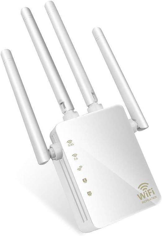 Amplificador De Señal WiFi, Banda Dual 1200Mbps ...