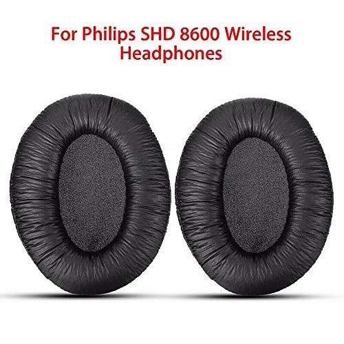 2 Paare / 4 Stücke Ersatzohrpolster Ohrpolster Kissen für Philips SHD 8600 Kopfhörer Headset