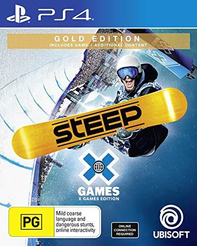 PS4 Spiel Steep X Games [Nordic-PEGI] auf Deutsch spielbar