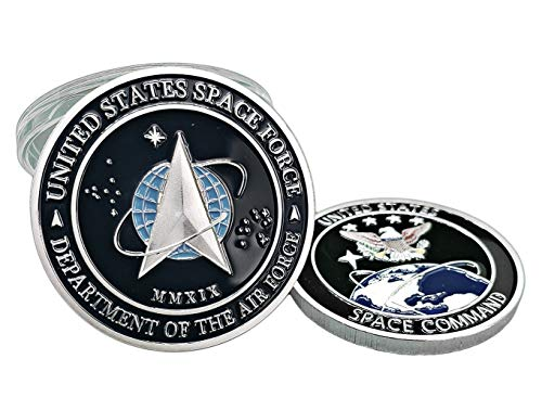 United States Space Force Logo Challenge Coin US Command