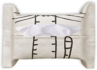 Cat Stripe Sit Black Line Paper Towel Facial Tissue Bag Napkin Bumf