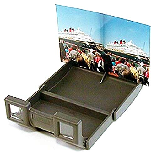 Loreo Mini-Kunststoff-Betrachter – 3D-Stereodruck – für Fuji W3 3D-Kamera 10,2 x 15,2 cm