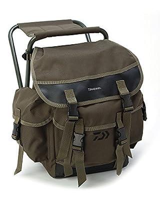 Daiwa Game Ruck Stool**Rucksack + Seat**Trout Salmon Game Coarse Fly Fishing Chair Bag Luggage Holdall Folding Seat Lightweight from Daiwa