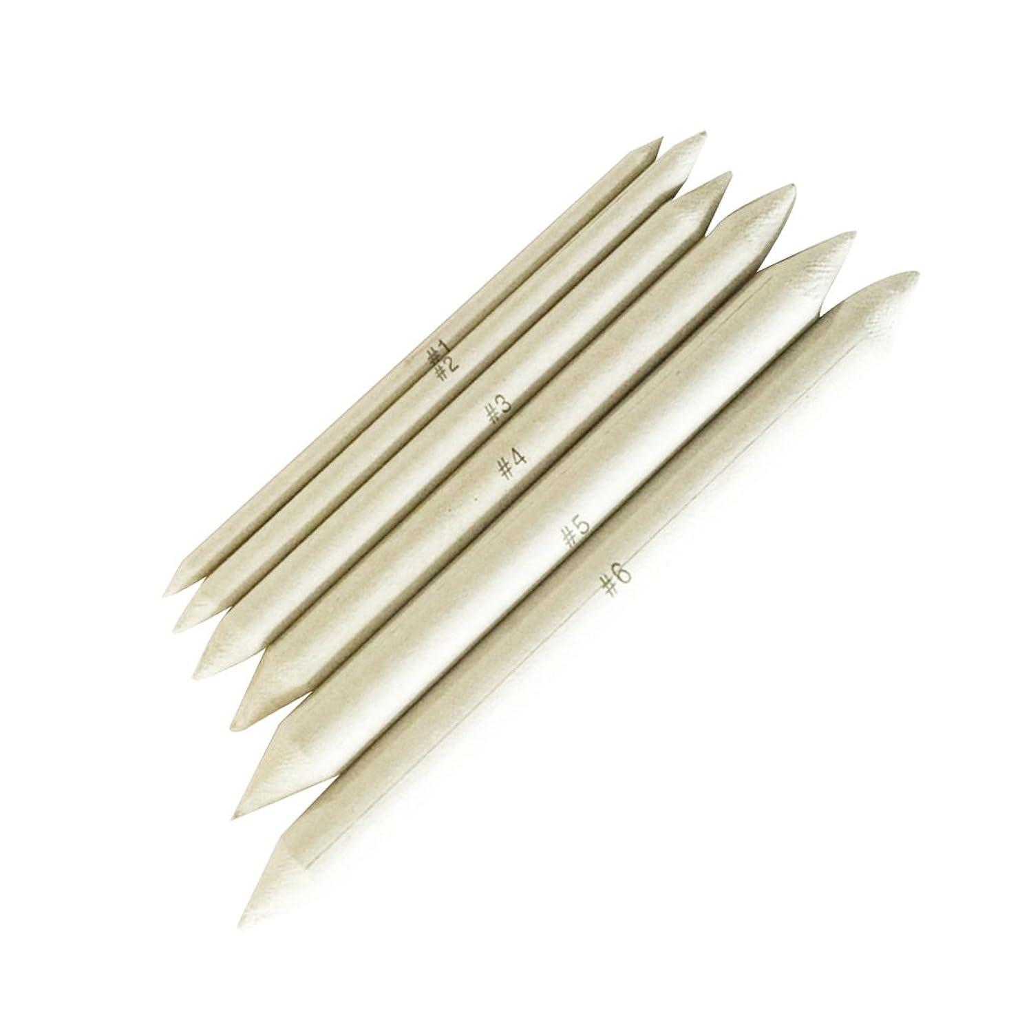 性差別液化する中でdailymall 6ピースブレンド鉛筆切り株アートセットアーティストスケッチ摩擦描画絵画ツール各種サイズ