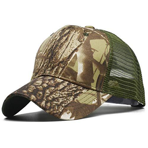 LUOXUEFEI Gorras Protector Solar Transpirable Al Aire Libre Deporte Snap Back Gorras Sombrero De Camuflaje Gorra De Camuflaje Sombrero para Hombres Adultos Gorras
