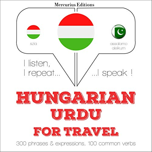 Hungarian – Urdu. For travel cover art