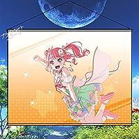 プライベートスクール BanG Dream! バンドリ! 丸山彩 まるやまあや タペストリー ポスター 壁掛け 掛ける絵 装飾画 巻物 軸物 カスタマイズ可能 約70cmX100cm