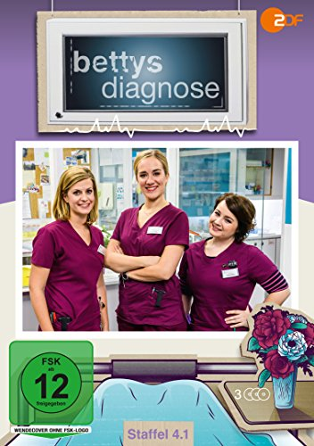 Bettys Diagnose - Staffel 4.1 (3 DVDs)