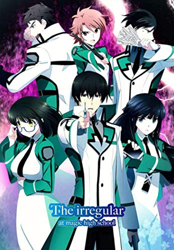 """The Irregular at Magic High School: Anime Journal Notebook, Perfect For Journaling, Writing, To Do List... Japanese Anime Gift For Teens Girls Boys ... Lined Notebook - (6.69""""x 9.61"""" In, 100 Pages)"""