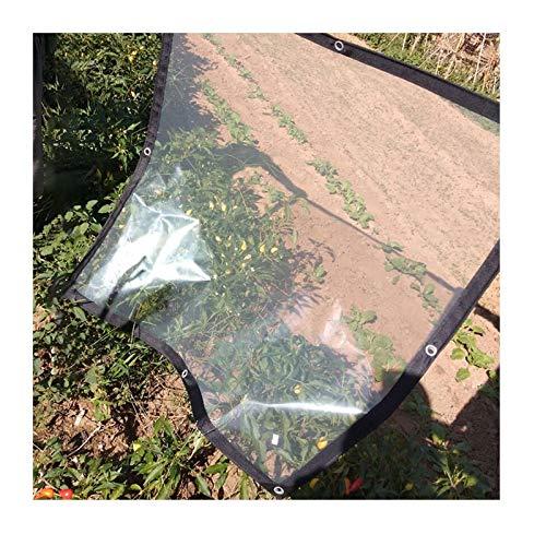 SHIJINHAO Lonas Impermeables Exterior El Engrosamiento Transparente A Prueba De Lluvia Tela De Plástico PE Lona Balcón Ventana De La Flor De Aislamiento En Frío De Cine Shed La Tienda del Invernadero