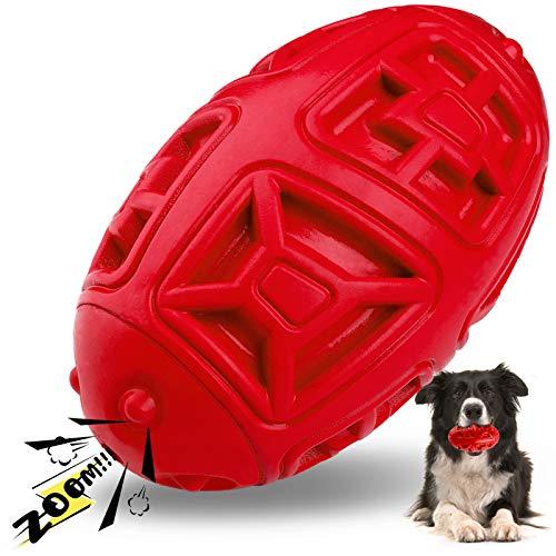 HAOPINSH Hundespielzeug UnzerstörbaresHundespielzeug Intelligenz HundespielzeugBall Strapazierfähiges Hundespielzeug QuietschendGroße Hunde RobustesHundespielzeug Welpen Unkaputtbares