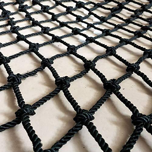 Protective Net Protection Netting Black Nylon Multi-Purpose Child Safety Net, Garden Decorative Net Protective Fence Net For Kids, Climb Net Truck Bed Cargo Net Garden Netting ( Size : 1X2M(3X7FT) )
